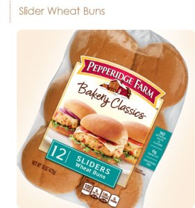 Pepperidge Farms Wheat Slider Buns