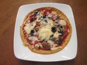 Pita Bread Pizza 004