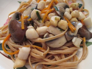 Scallops with Linguine 008