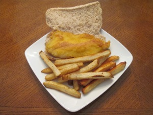 Seasoned Tilapia Baked Fries 006