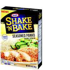 Shake N Bake Coating Mix, Seasoned Panko