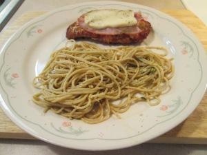 Smoked Mozzarella Chicken Spaghetti 003