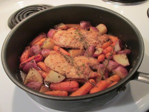 Swanson Pan Sauteed Chicken with Vegetables and Herbs 002