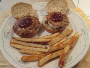 Turkey Burger Sliders 006