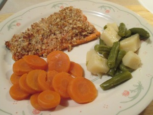 Walnut crusted salmon 008
