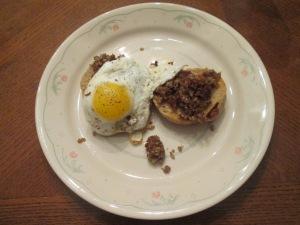 Crumbled Goetta Egg Eng Muffin 003