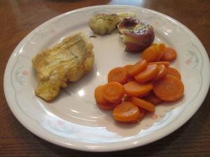 Haddock Smashed Red Potatoes 008
