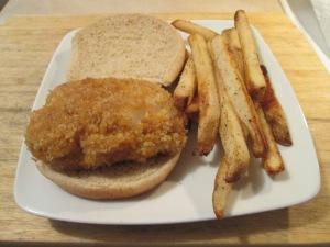 Panko Cod Sandwich 007