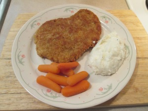 Panko Crusted Cubed Pork Steak 004