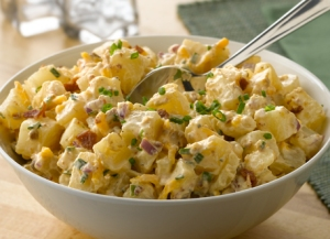 Simply Potatoes Cheddar Bacon Potato Salad