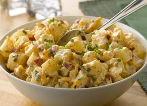 Simply Potatoes Cheddar Bacon Potato Salad