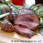 Wild idea Buffalo 12 oz. Round HeelSteak