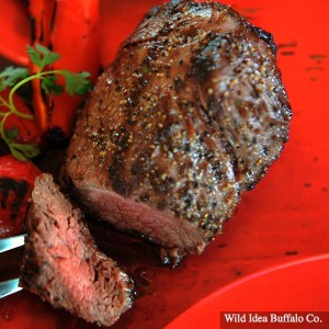Wild Idea Buffalo 5 oz. Petite Top Sirloin Steak