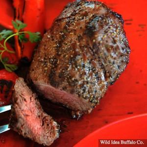 Wild Idea Buffalo 5 oz. Petite Top Sirloin Steak