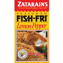 Zatarain's Seasoned Fish Fri   Lemon Pepper