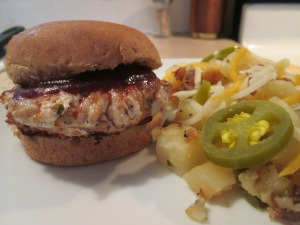 BBQ Turkey Sliders Jala Cheese Potatoes 008