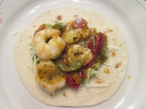 Shrimp Fajitas 007