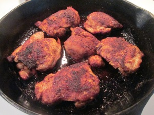 Spiced Chicken Thighs 002