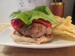 Turkey Burger, muenster cheese bib lettuce003