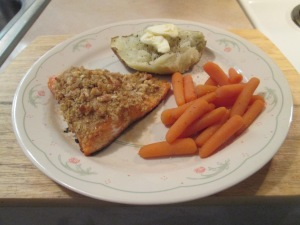 Walnut Crusted Salmon 003