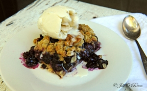 Wild Idea Buffalo Blueberry Cobbler