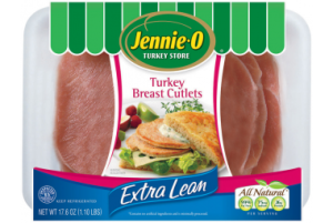 Jennie - O Extra Lean Turkey Breast Cutlets