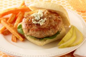 Jennie - O Turkey Burgers with Grilled Onion