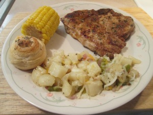 Cumin Spiced Pork Chop Jalp Potatoes 005