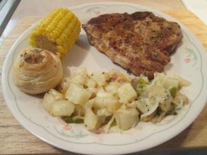 Cumin Spiced Pork Chop Jalp Potatoes 005