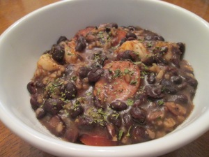Grandma Mauds Black Bean Rice 012