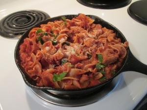 Italian Turkey Sausage Skillet 003