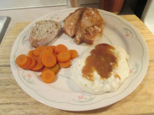Jennie O White Turkey and Gravy 004
