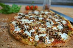 Wild Idea Buffalo Italian Sausage & Mushroom Pizza