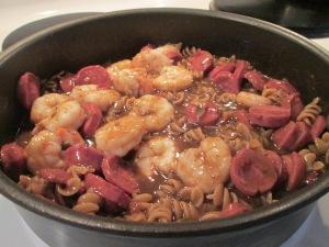 Zatarain's Gumbo Pasta Shrimp Sausage 003