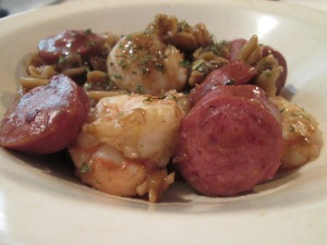 Zatarain's Gumbo Pasta Shrimp Sausage 008