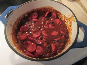 Beans and Smoked Turkey Sausage 001