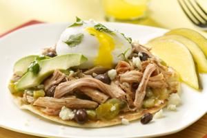 Jennie - O Huevos Rancheros Open-Faced Taco