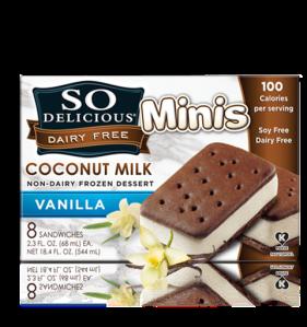 coconut vanilla minis