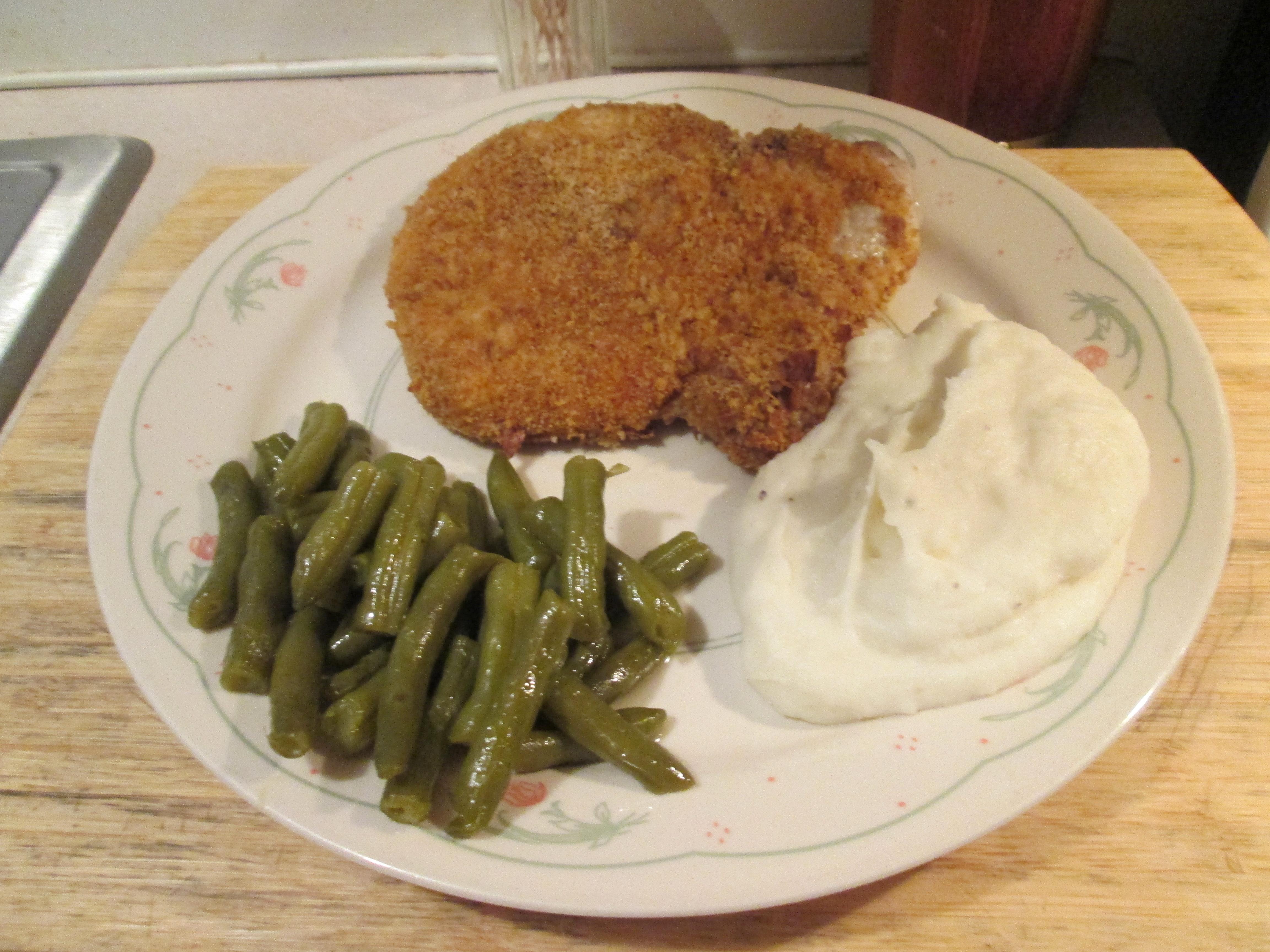 Pork chop and mashed potato recipes - Pork man recipes