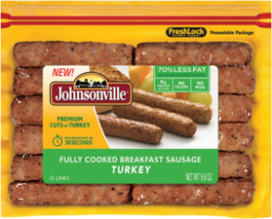 Johnsonville Turkey Breakfast Sausage Links
