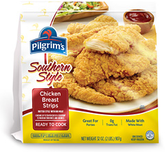 Pilgrim's Southern Style Breast Strips