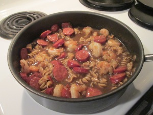 Shrimp and Andouille Sausage Gumbo 001