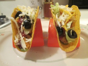 Turkey and Bean Tacos 006