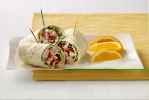 Turkey Caesar Wraps