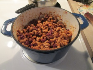 Turkey Chili Mac and Cheese 010