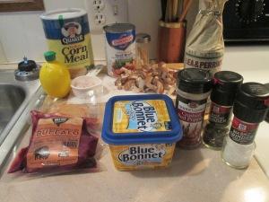 Buffalo and Mushroom Diane Creamy Cornmeal 001