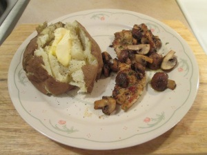 Chicken and Mushrooms 011