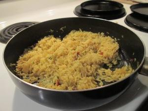 Clam Strips Popcorn Shrimp Caribbean Rice 003