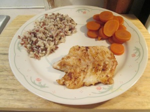 Blackend Grouper Grain Carrots 006