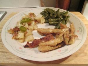 Catfish Nuggets Jalapeno Cheddar Potatoes 001